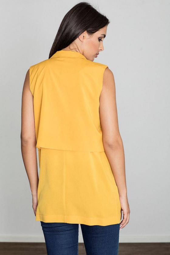 Ilga juoda suknelė atvirais pečiais_61728