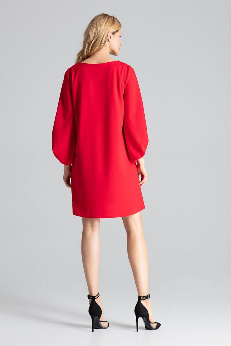 Juoda ilga suknelė dekoruota perliukais_61889