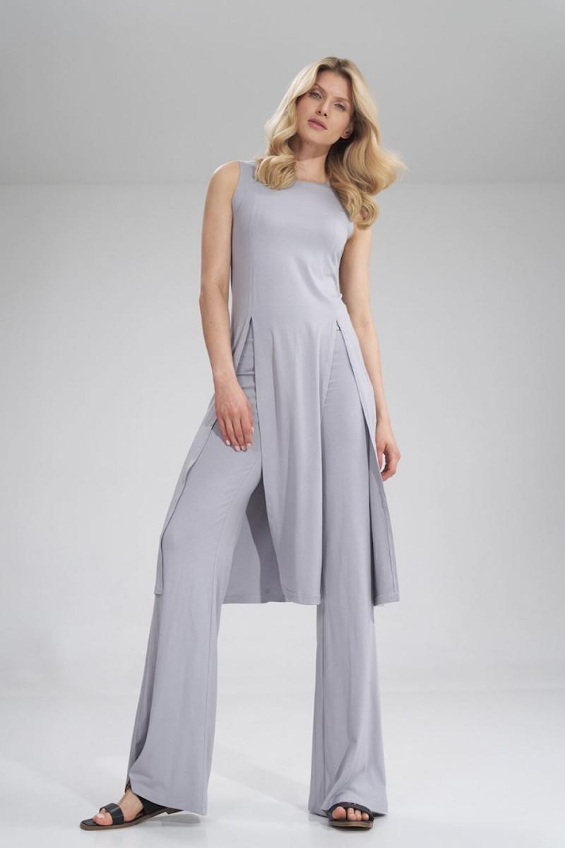 Juoda ilga suknelė dekoruota perliukais_61890