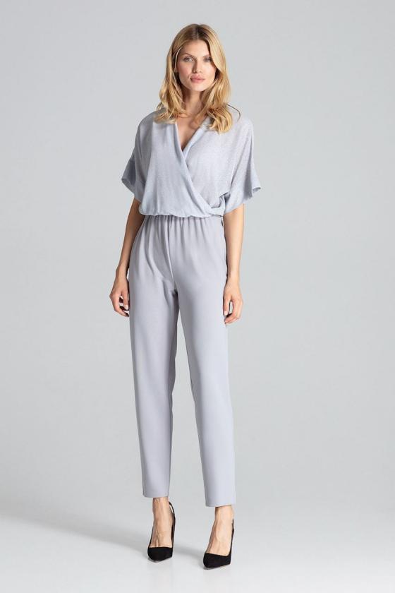 Ilga raudona suknelė su iškirpte nugaroje dekoruota žvyneliais_61904
