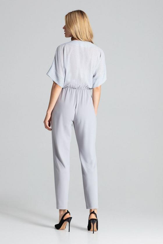 Ilga raudona suknelė su iškirpte nugaroje dekoruota žvyneliais_61906
