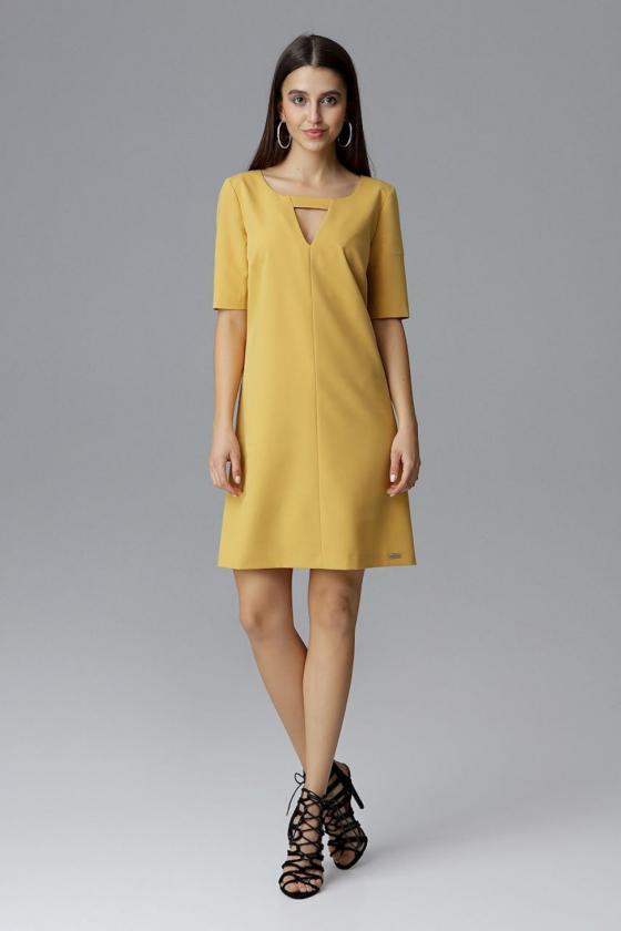 Elegantiškos raudonos kapri kelnės