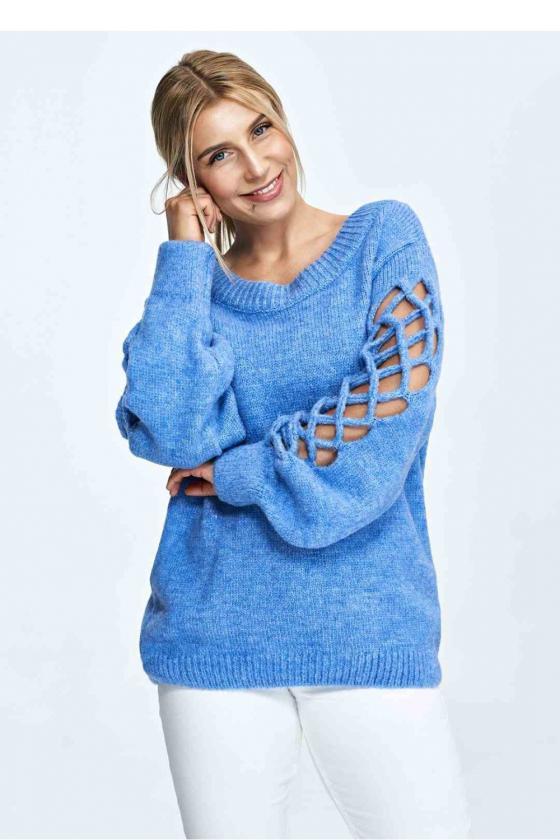 Maxi ilgio rausva suknelė dekoruota gėlių motyvais_62039