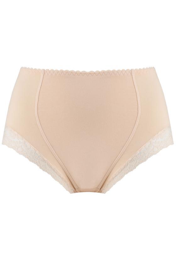 Raudonos spalvos raukiniuota suknelė ilgomis rankovėmis