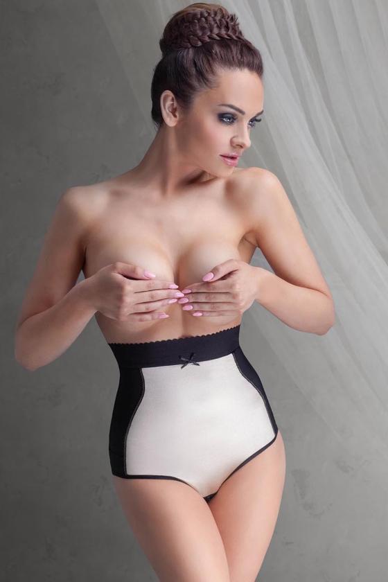 Geltonos spalvos raukiniuota suknelė ilgomis rankovėmis_62149