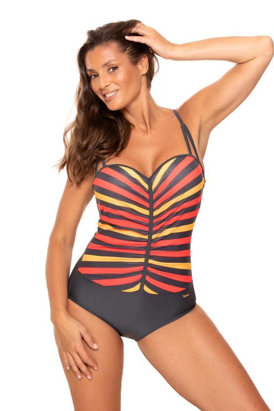 Ilga alyvų spalvos satino imitacijos suknelė atvira nugara