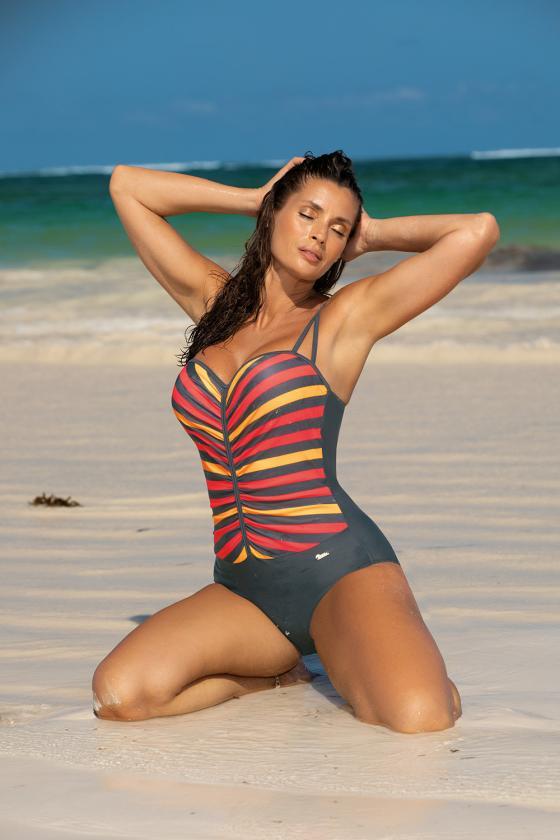 Ilga alyvų spalvos satino imitacijos suknelė atvira nugara_62215