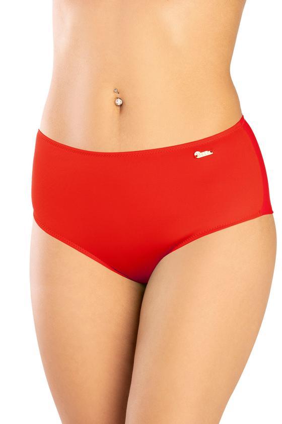 Elastinga mėlynos spalvos suknelė dekoruota sagomis