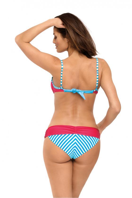 """Neoniniai rožiniai marškinėliai trumpomis rankovėmis """"Kiss"""""""