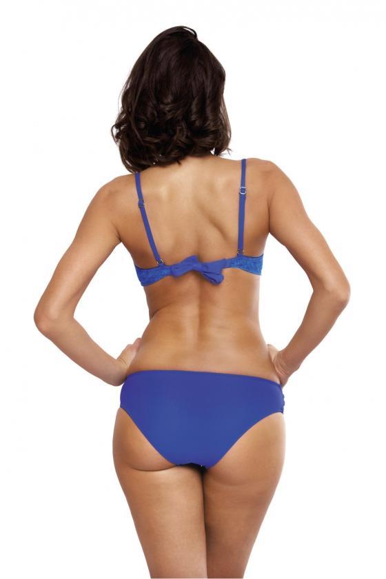 """Mėlyna plisuota suknelė su dirželiu """"Lila""""_62400"""