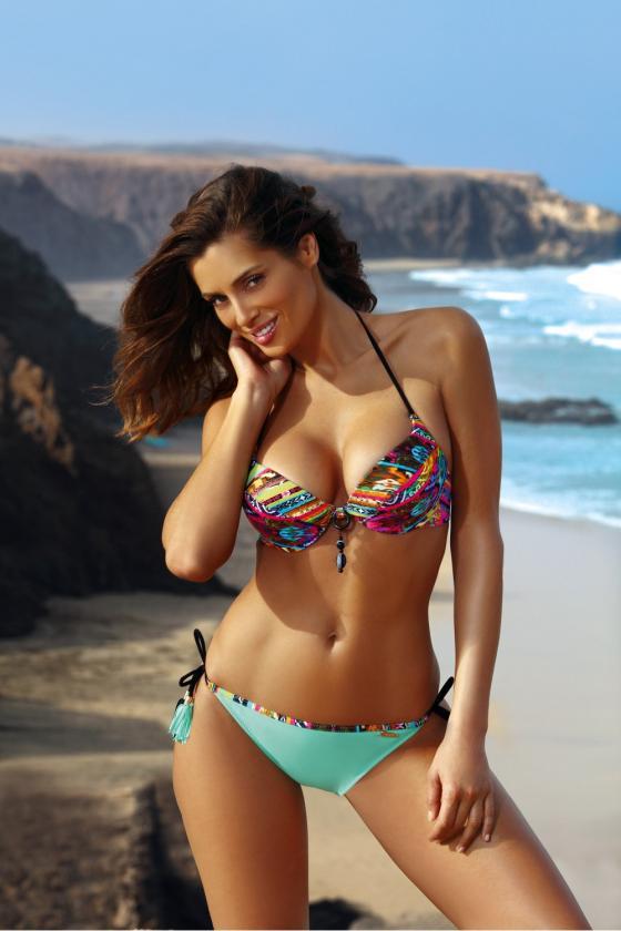 Smėlio spalvos padidinto modelio suknelė su gobtuvu_62533