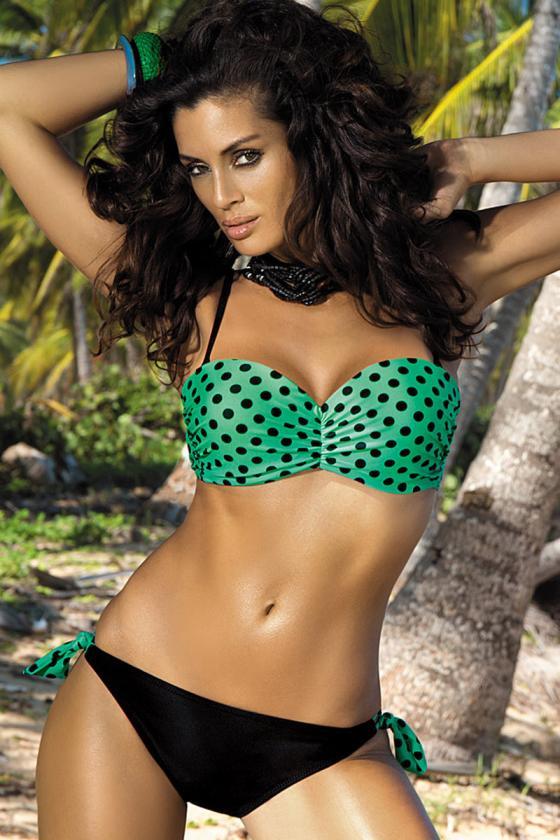 Violetinis sportinis kostiumas dekoruotas juostomis
