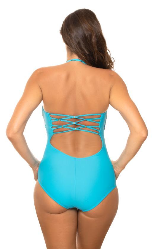 Raudonas sportinis kostiumas dekoruotas juostomis_62717