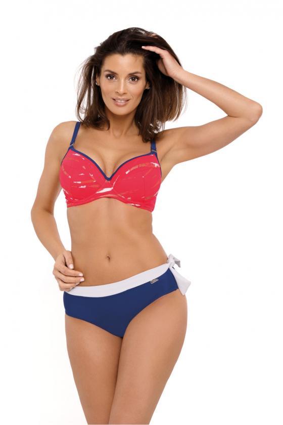Violetinė oversize tunika su aplikacija_62735