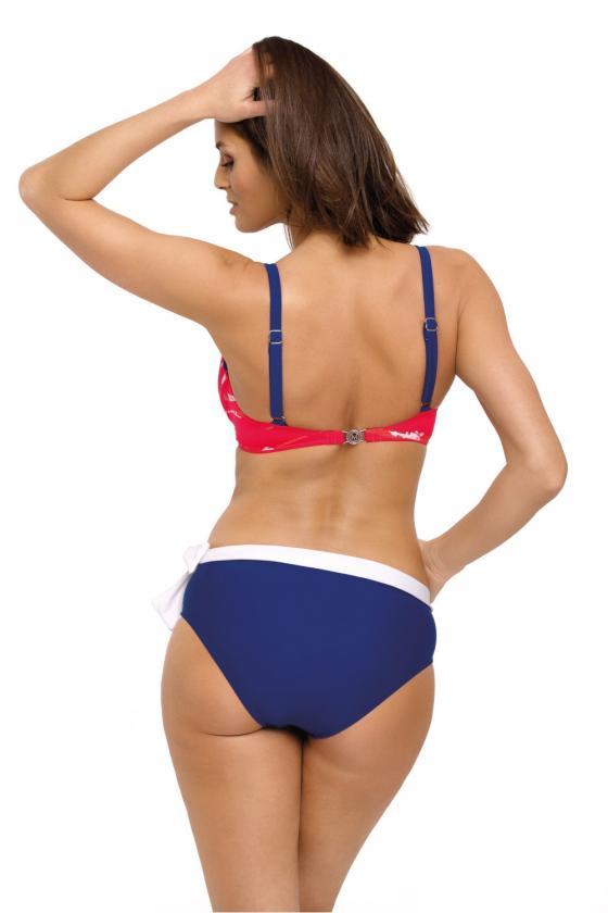 Violetinė oversize tunika su aplikacija