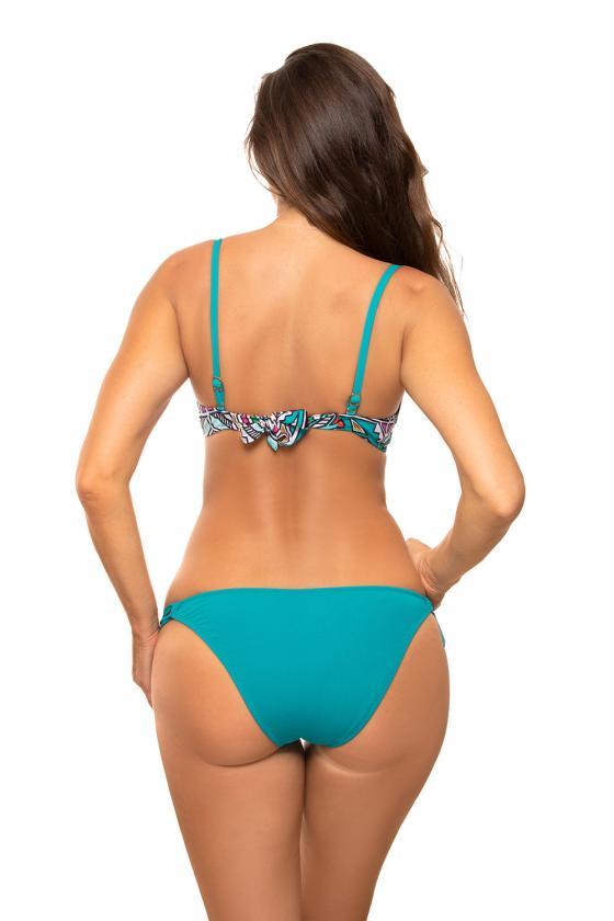 Dailus violetinės spalvos komplektas su leopardo raštu_62853