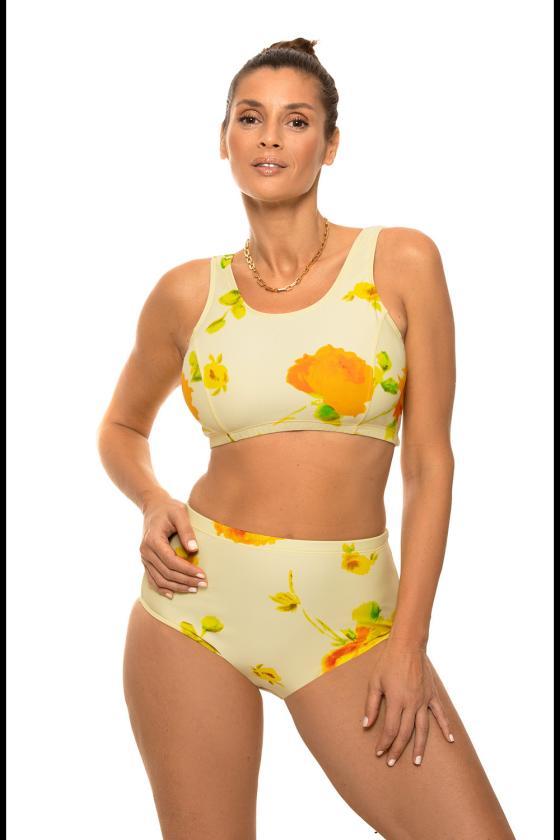 Kapučino spalvos padidinto modelio suknelė su gobtuvu_62884