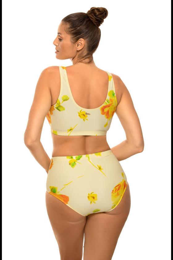 Kapučino spalvos padidinto modelio suknelė su gobtuvu