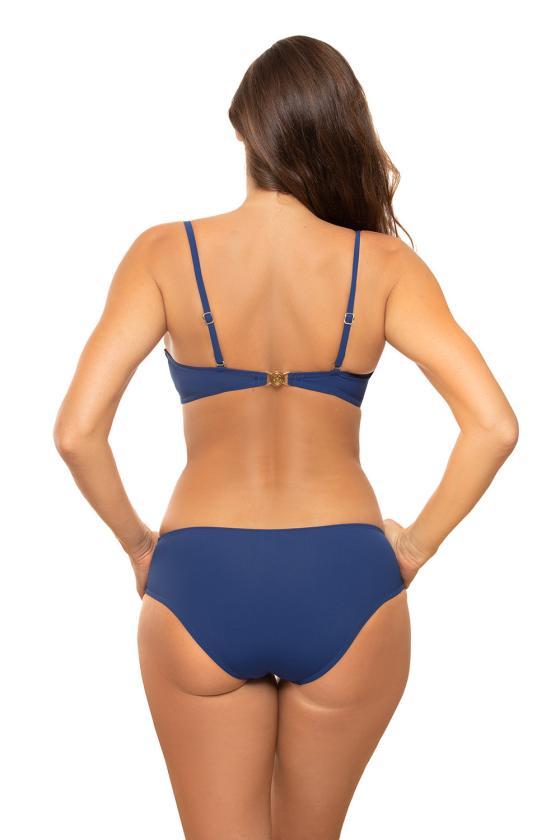 """Mėlyna """"skater"""" stiliaus suknelė su širdies formos iškirpte_62900"""