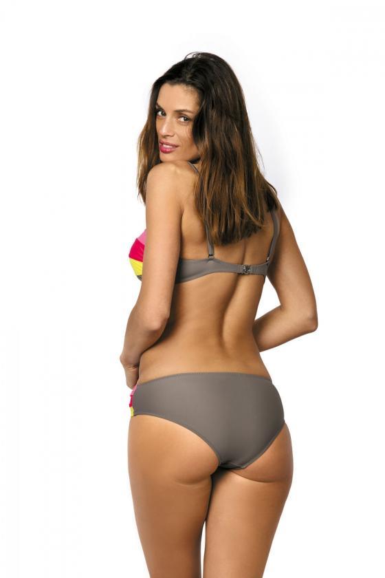 """Bordinė""""skater"""" stiliaus suknelė su širdies formos iškirpte"""