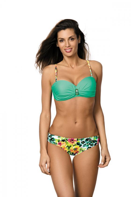 """Bordinė""""skater"""" stiliaus suknelė su širdies formos iškirpte_62920"""