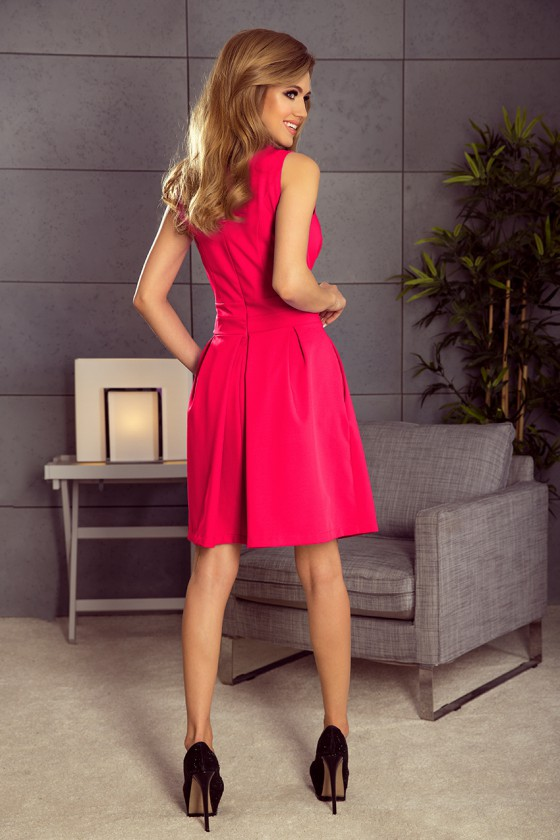 Romantiška aviečių spalvos suknelė_62957