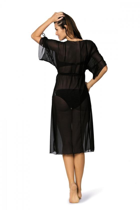 Romantiška aviečių spalvos suknelė_62958