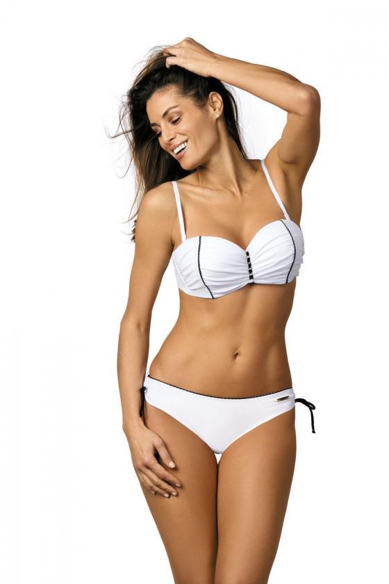 Puošni alyvų spalvos suknelė dekoruota nėriniais
