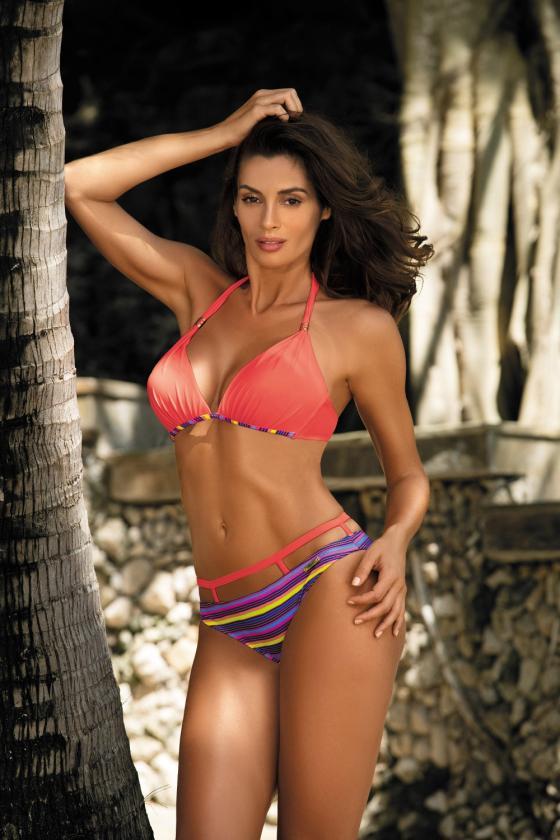 Puošni alyvų spalvos suknelė dekoruota nėriniais_62966