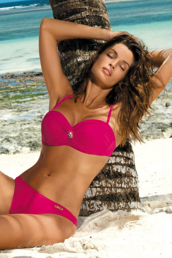 Įspūdinga alyvų spalvos suknelė gipiūrinėmis rankovėmis_62971