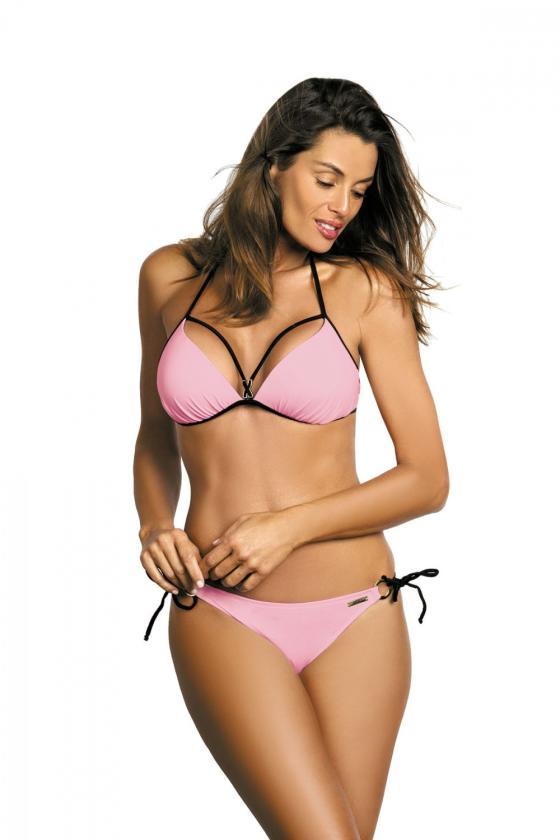 Elegantiška žalios suknelė su V formos iškirpte