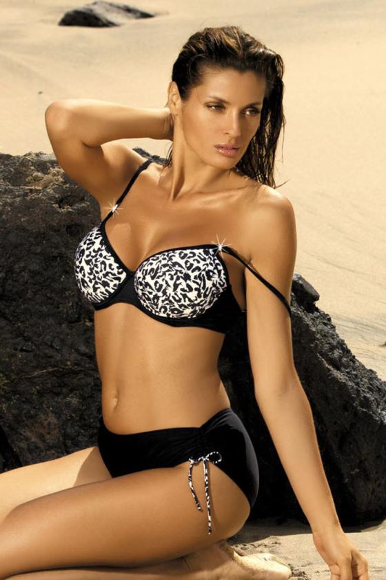 Elegantiška raudona suknelė su dirželiu_63019