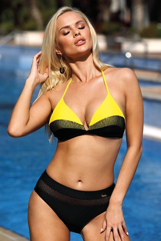 Elegantiška raudona suknelė su dirželiu_63020