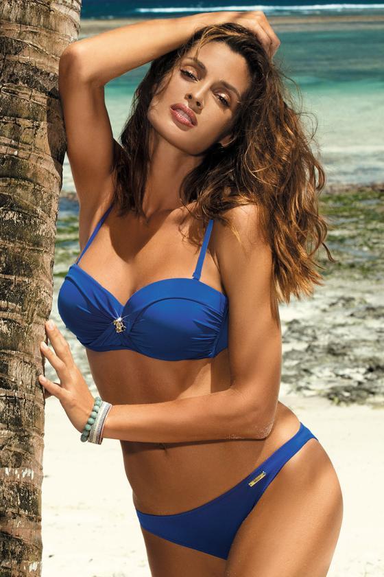 Seksualus smėlio spalvos maudymosi kostiumelis_63292