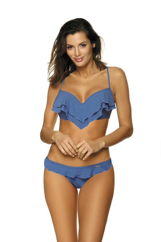 Pilka padidinto modelio suknelė su gobtuvu