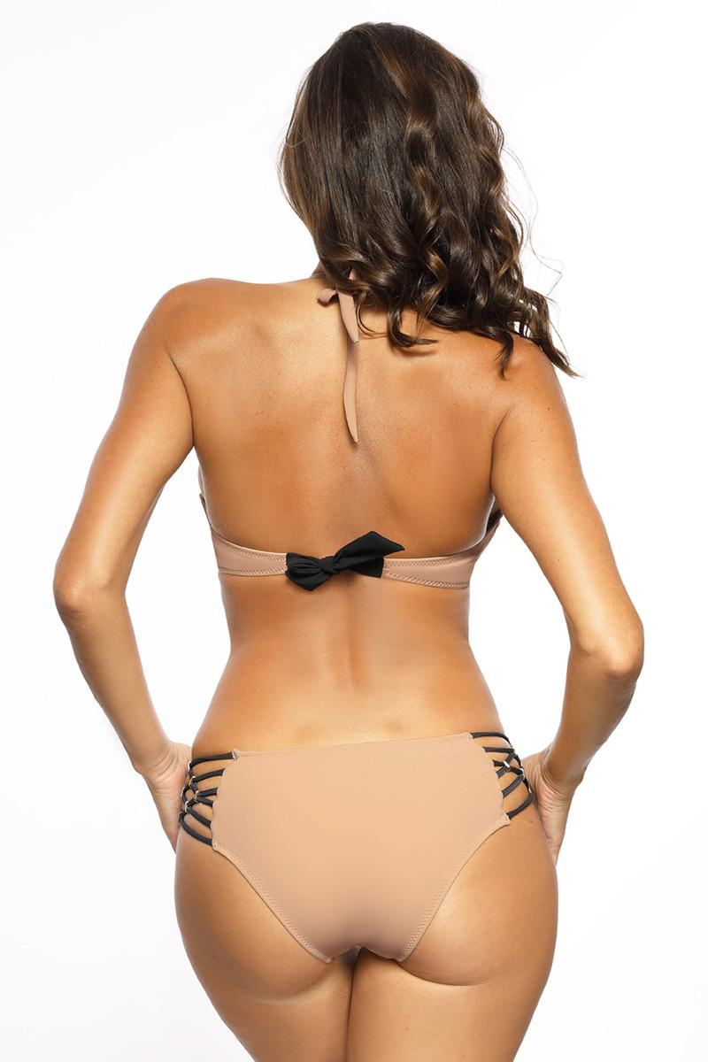 Seksuali odos imitacijos asimetriško kirpimo suknelė_63667