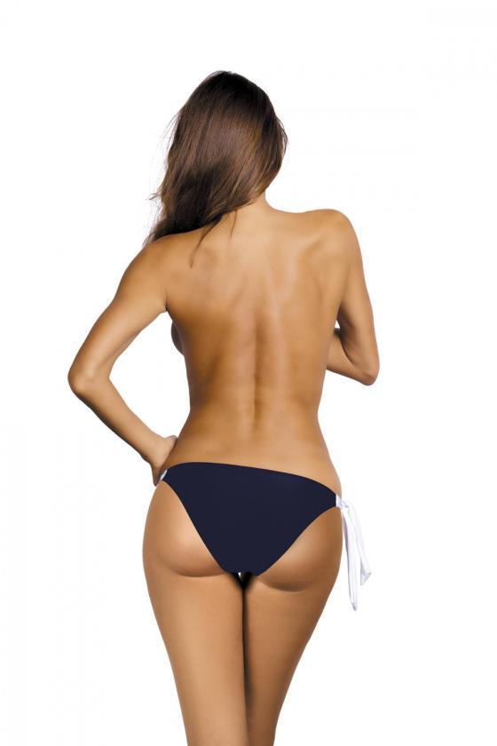 Daili pilka suknelė su užrašais ir iškirpte nugaroje_63679